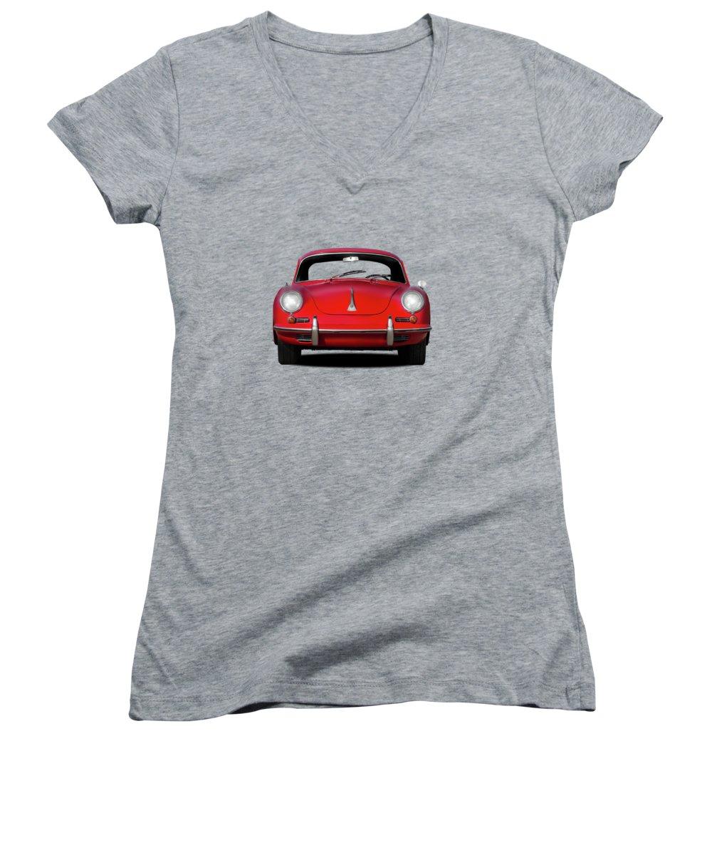 Car Photographs Women's V-Neck T-Shirts