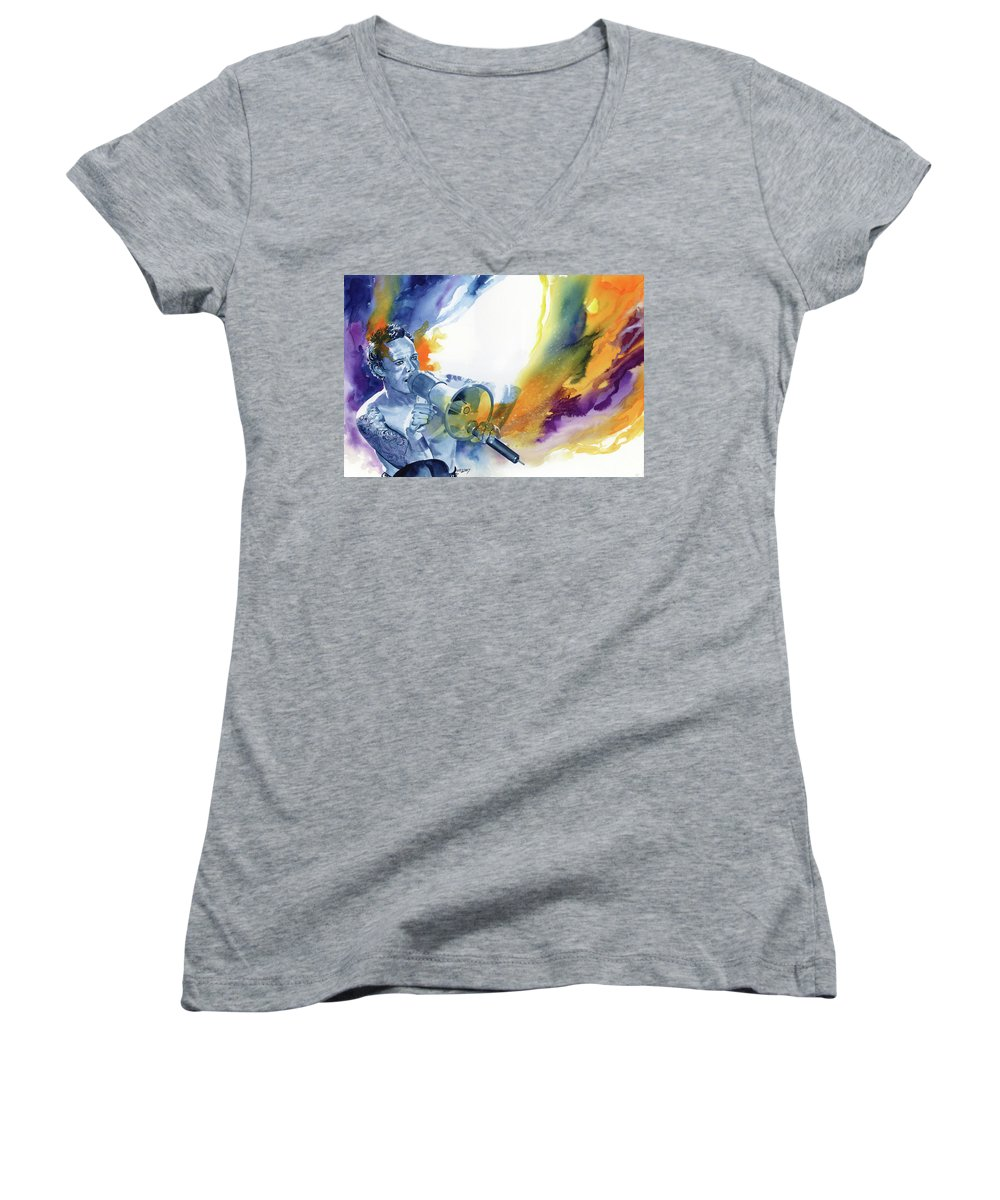 Stone Temple Pilots Women's V-Neck T-Shirts