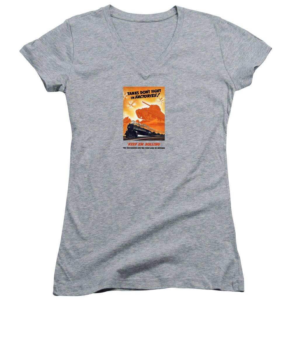 Train Junior V-Neck T-Shirts