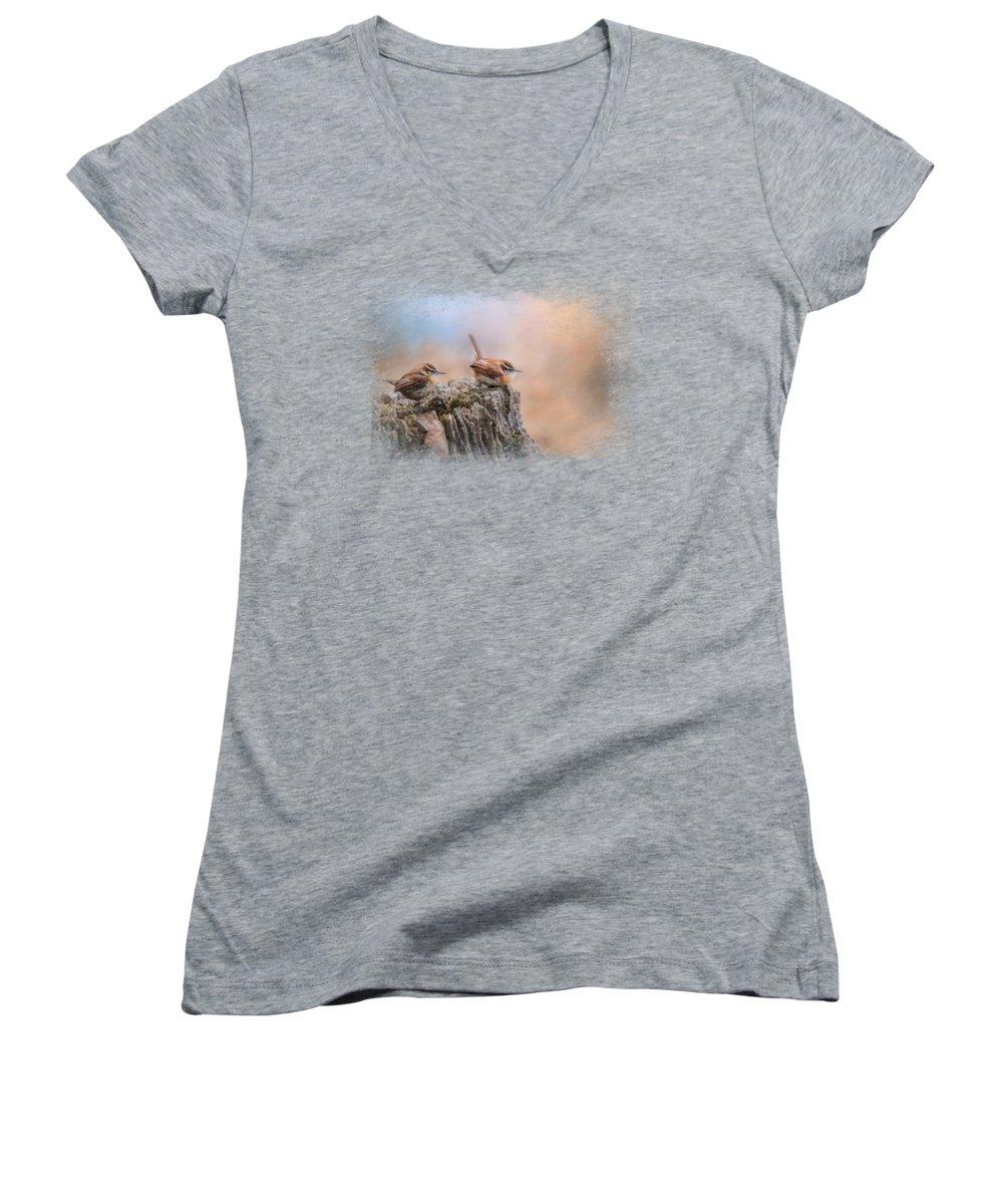 Wren Junior V-Neck T-Shirts
