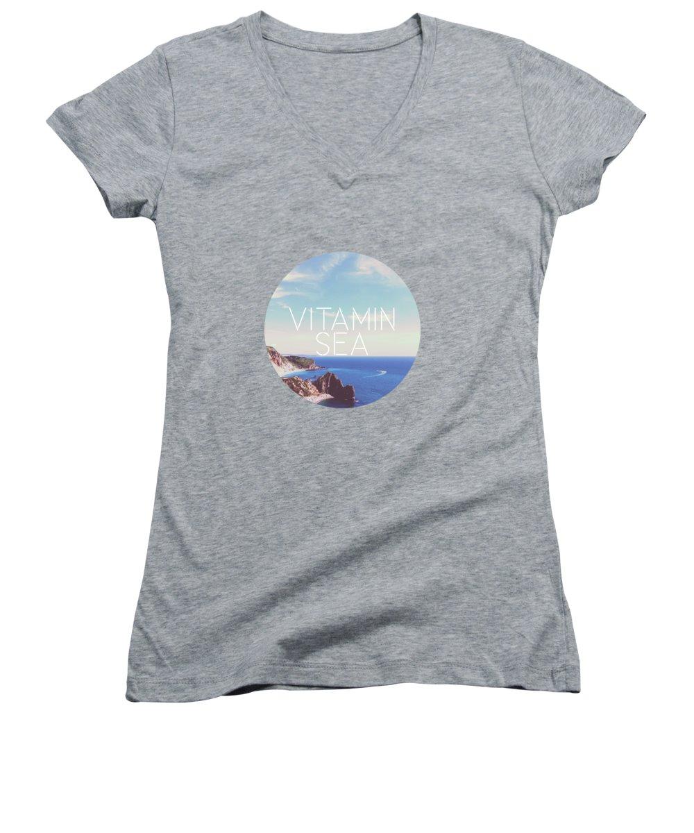 Landscapes Junior V-Neck T-Shirts