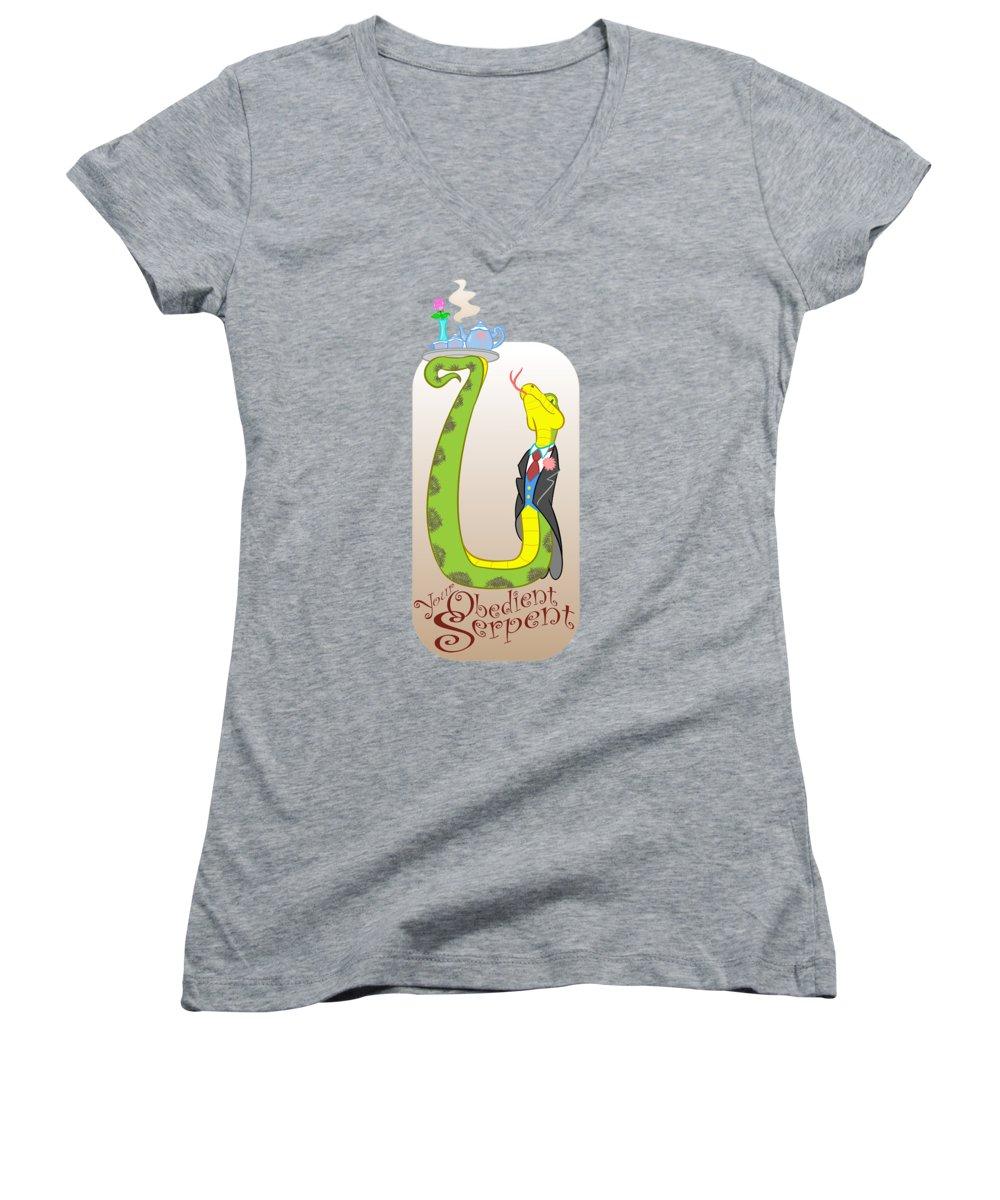 Boa Constrictor Junior V-Neck T-Shirts