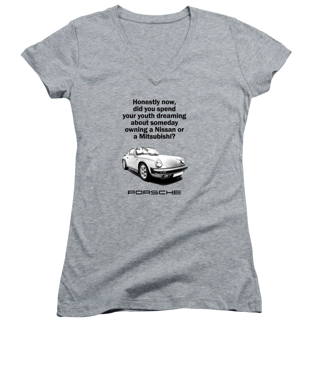 Supercar Photographs Women's V-Neck T-Shirts