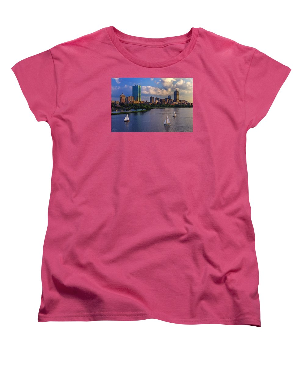 Hancock Building Women's T-Shirts