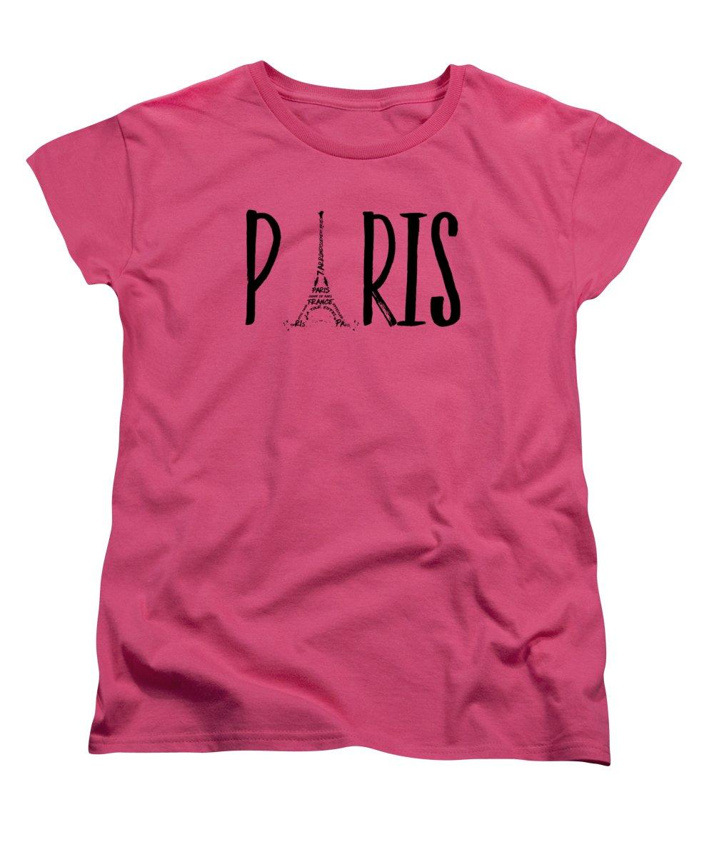 Paris Women's T-Shirts