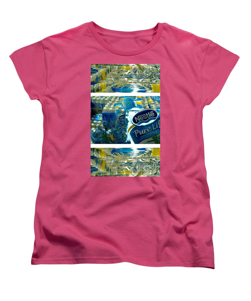Water Women's T-Shirt (Standard Cut) featuring the photograph Pure Life by Ze DaLuz