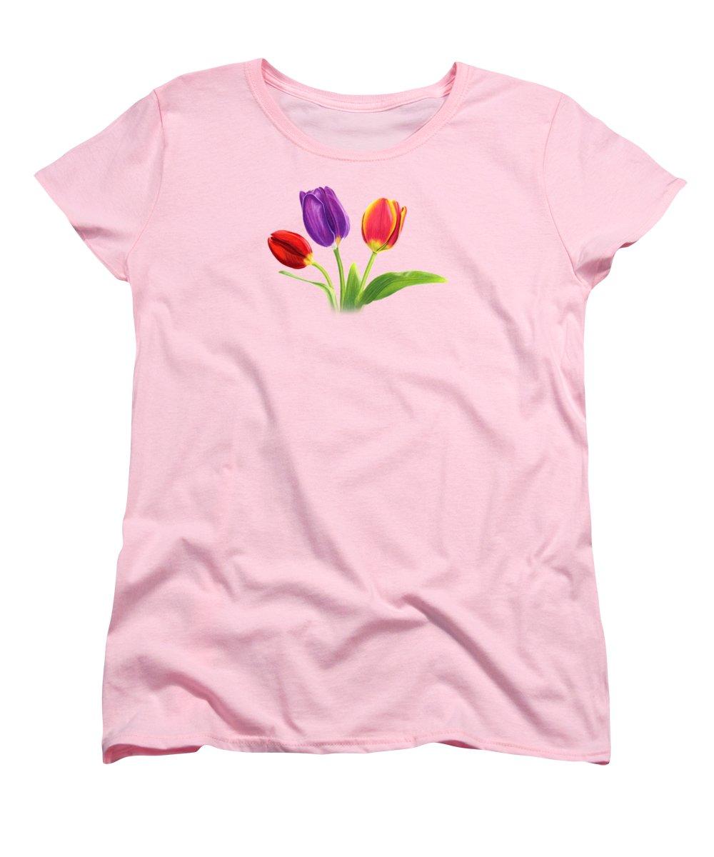 Tulips Women's T-Shirts