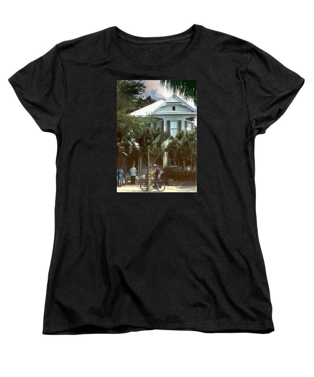 Historic Women's T-Shirt (Standard Cut) featuring the photograph Keywest by Steve Karol