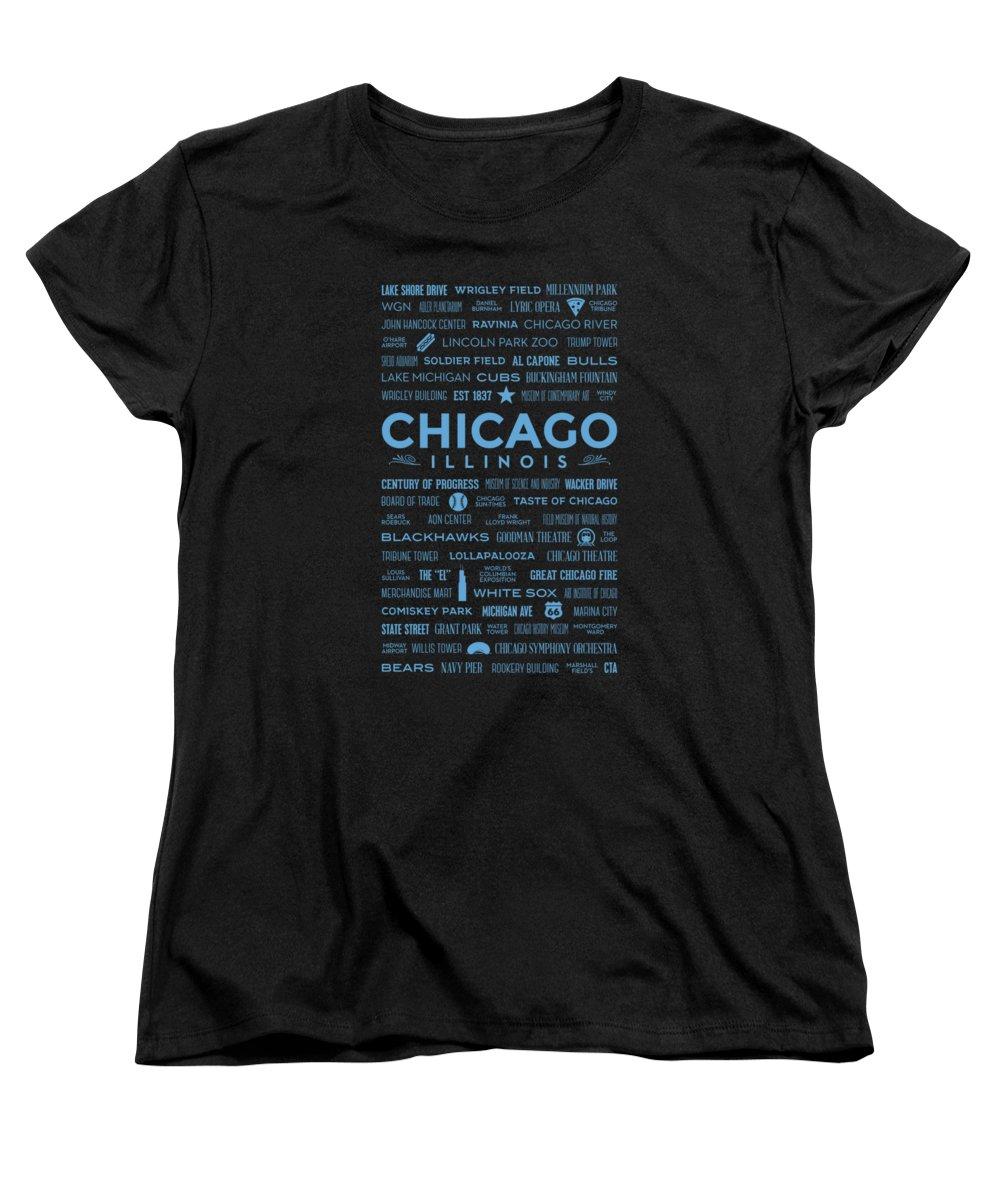 Wrigley Field Women's T-Shirts
