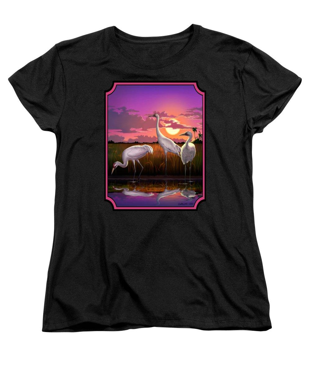 Crane Women's T-Shirts
