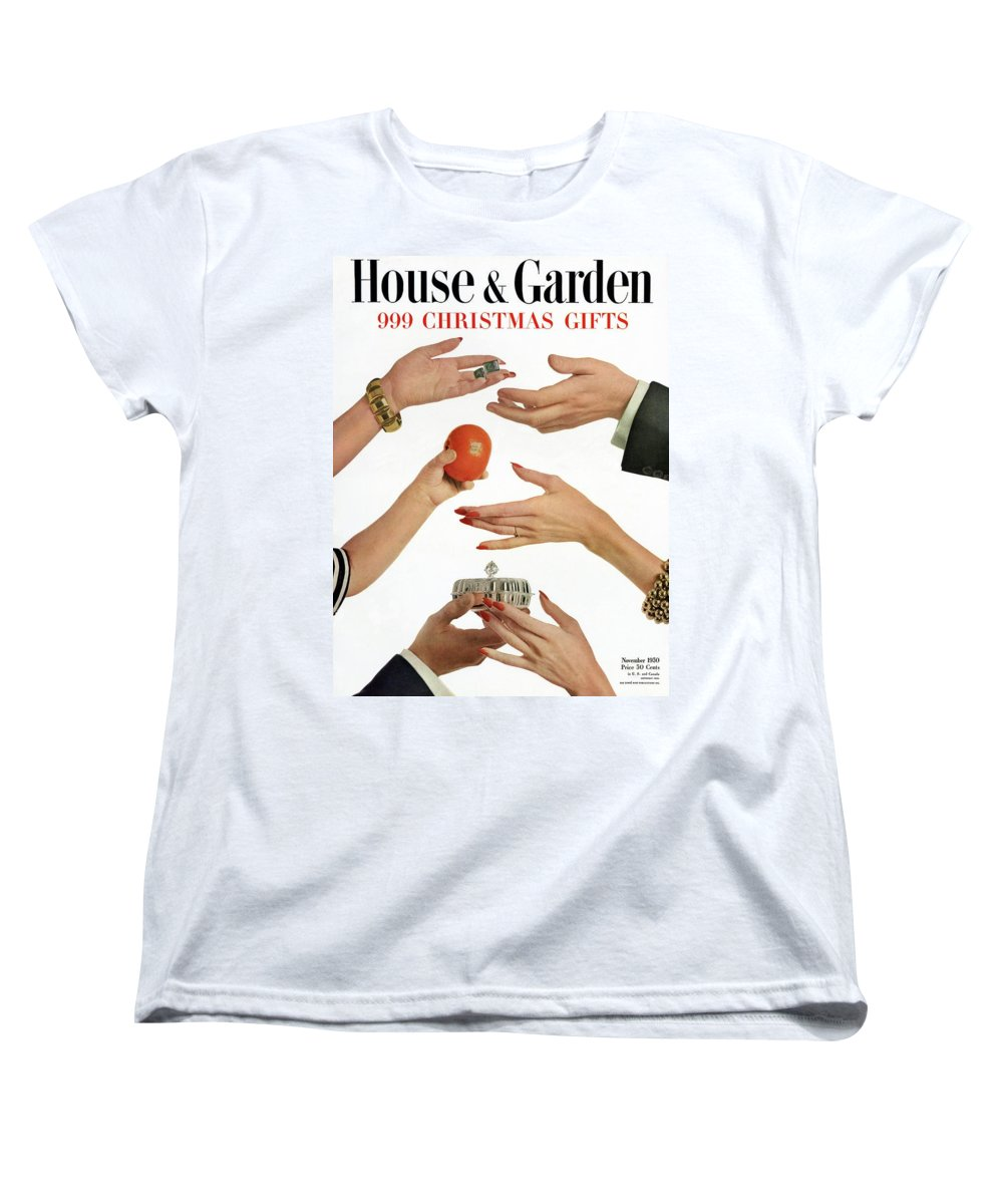 House And Garden 999 Christmas Gifts Cover Womens T-Shirt for Sale ...