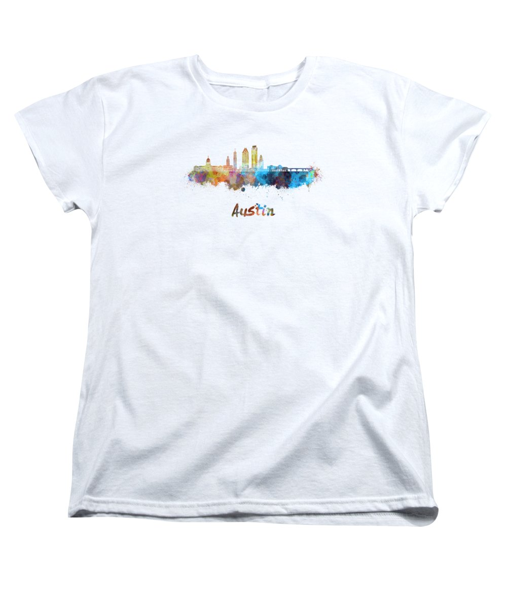 Austin Skyline Women's T-Shirts