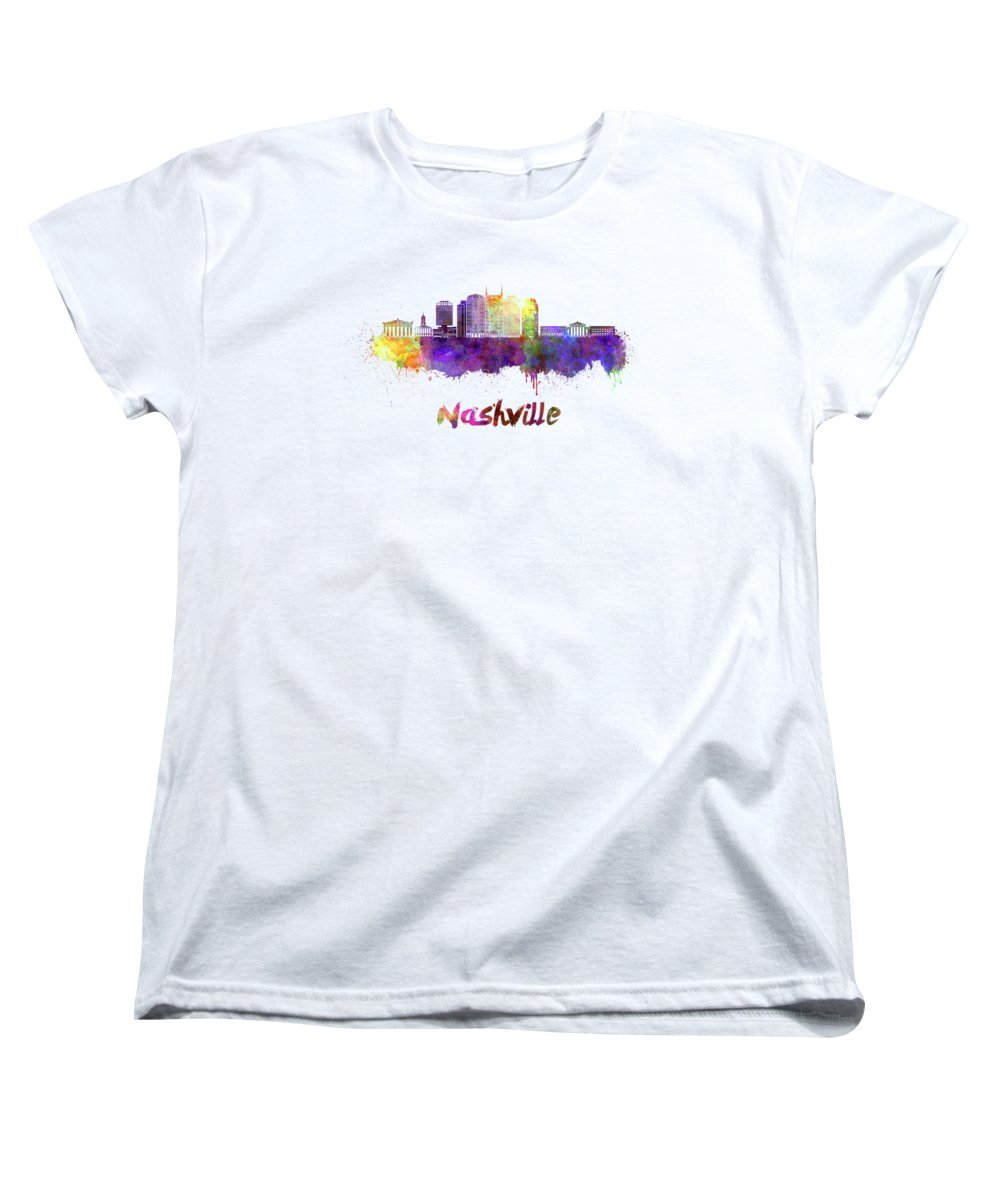 Nashville Skyline Women's T-Shirts