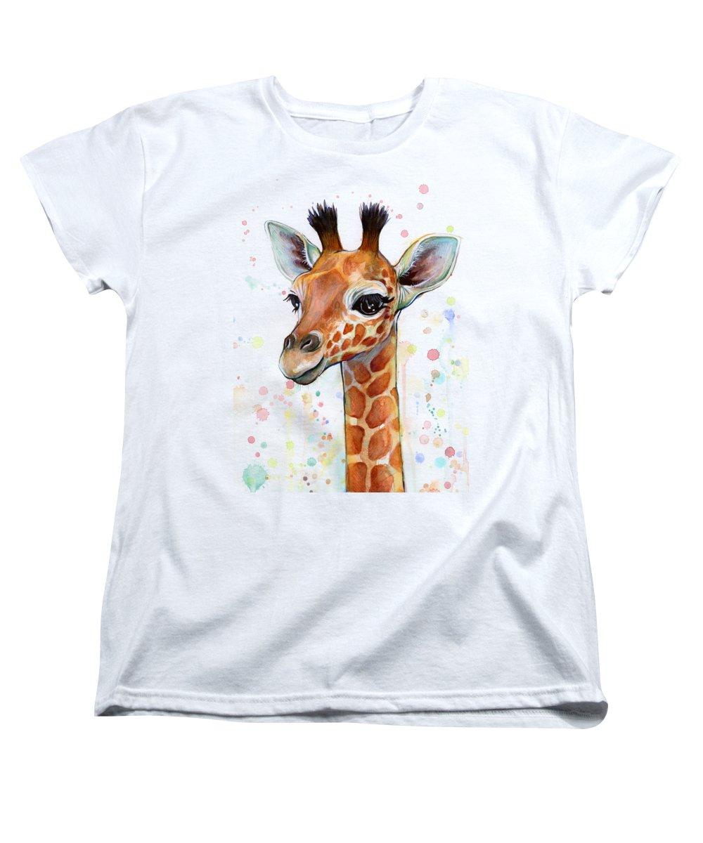 Giraffe Women's T-Shirts