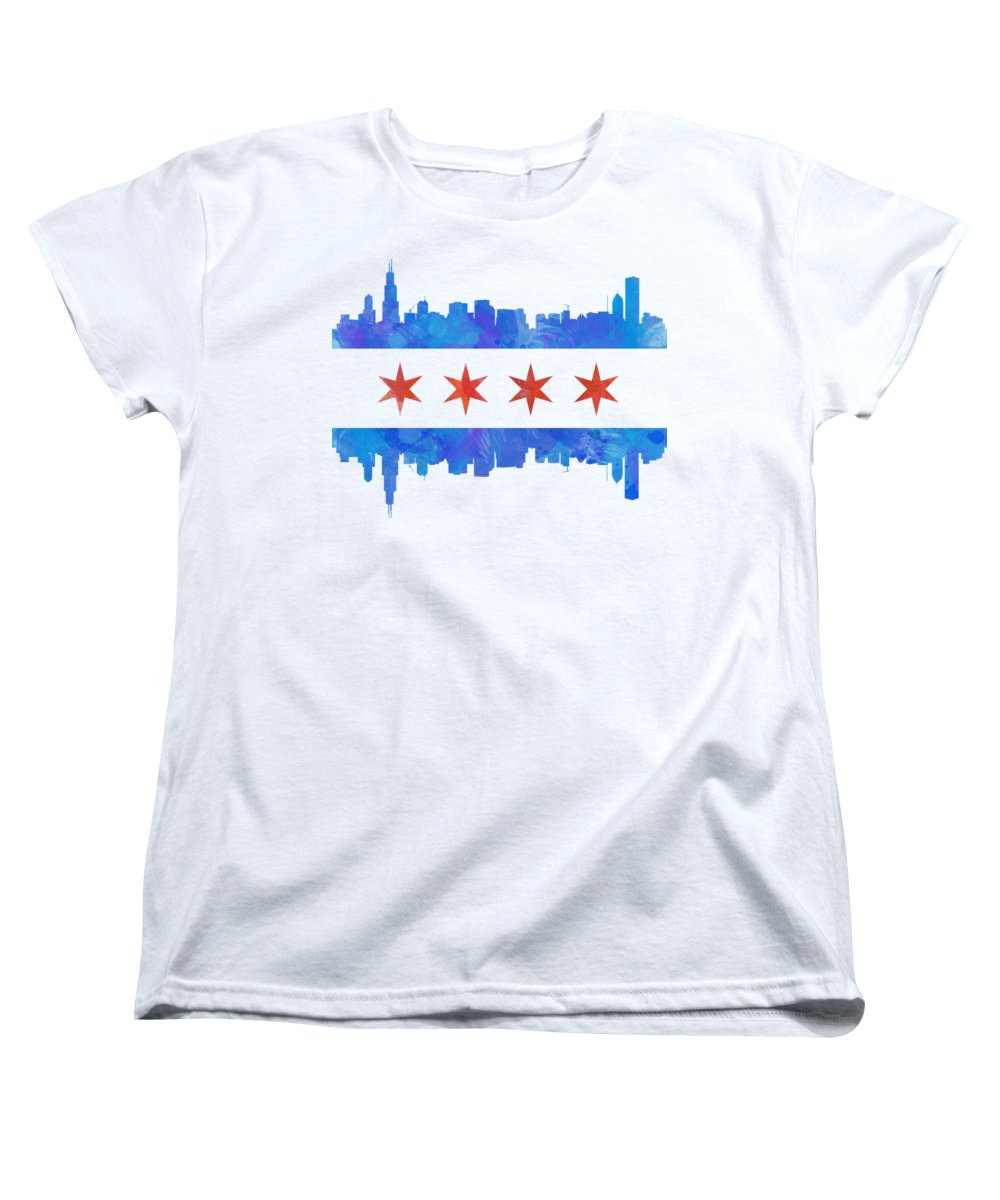 Chicago Skyline Women's T-Shirts