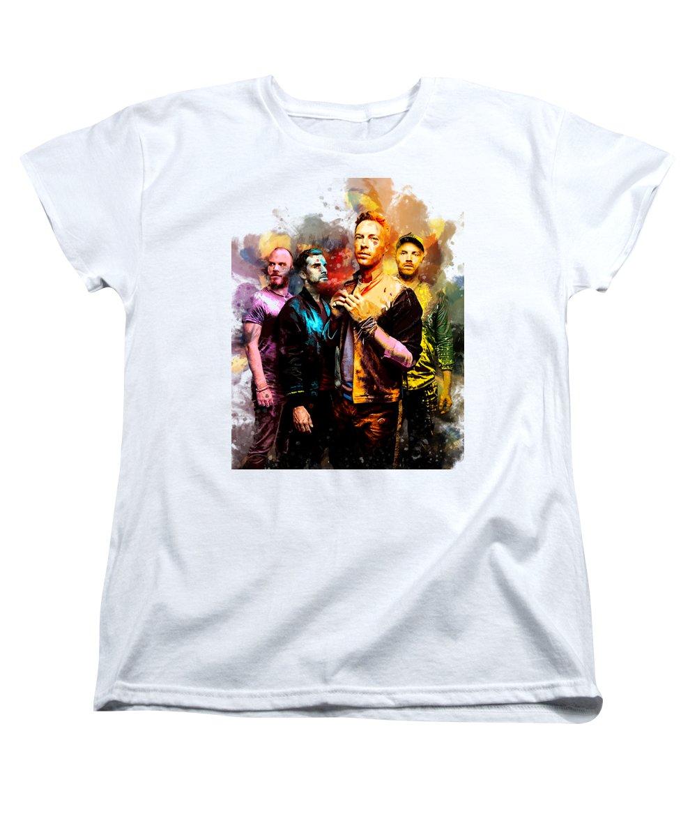 Coldplay Women's T-Shirts