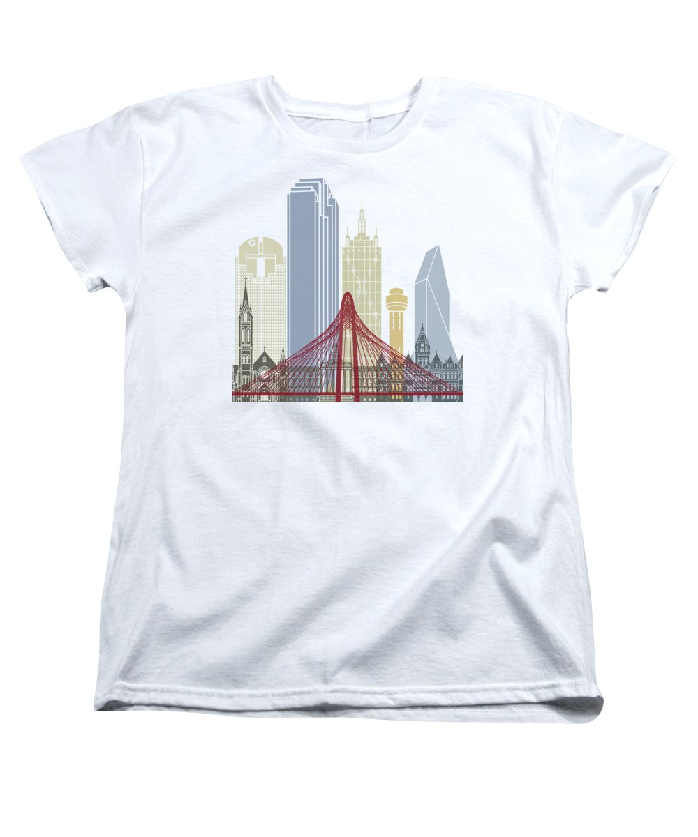 Dallas Skyline Women's T-Shirts