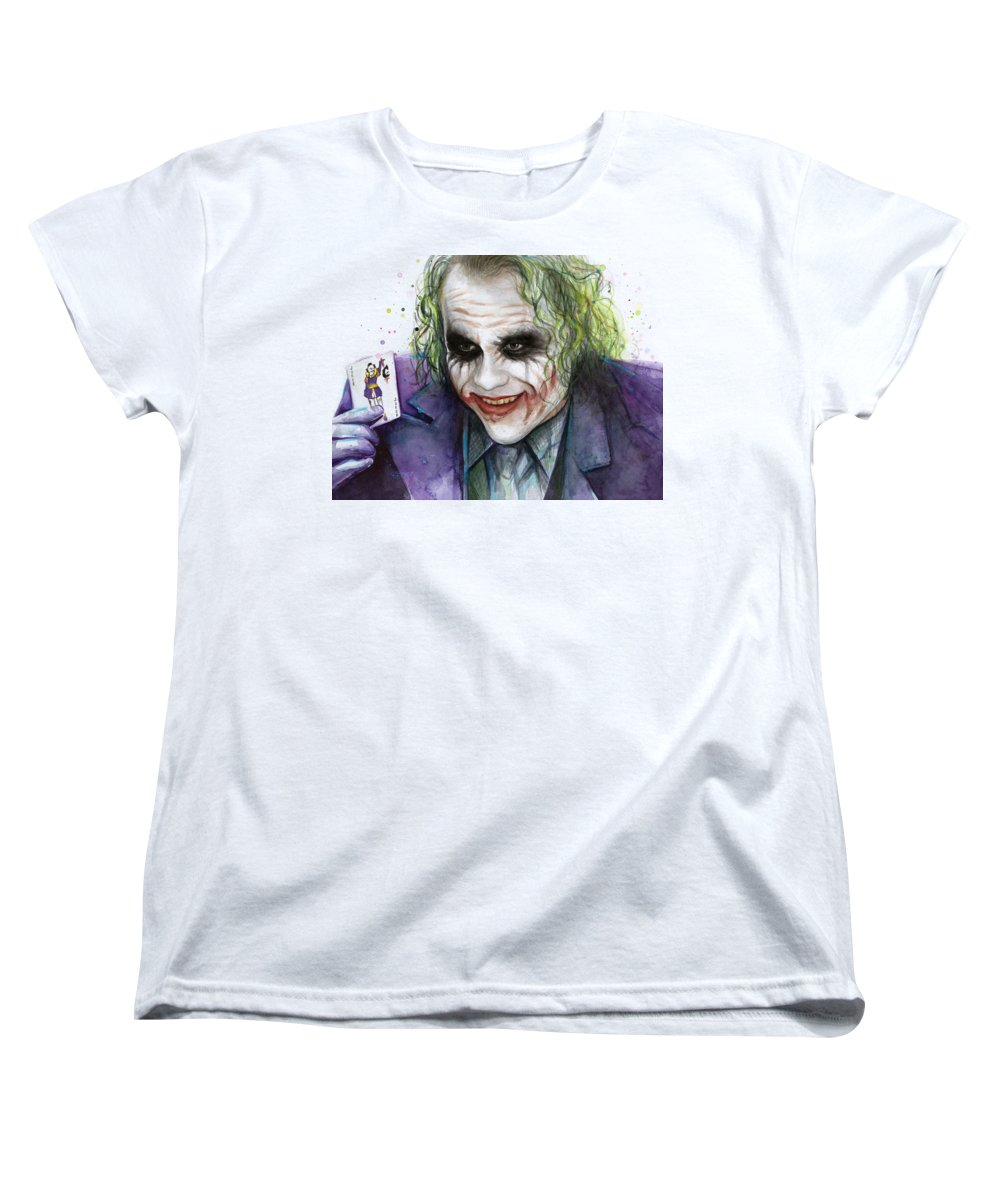 Heath Ledger Women's T-Shirts