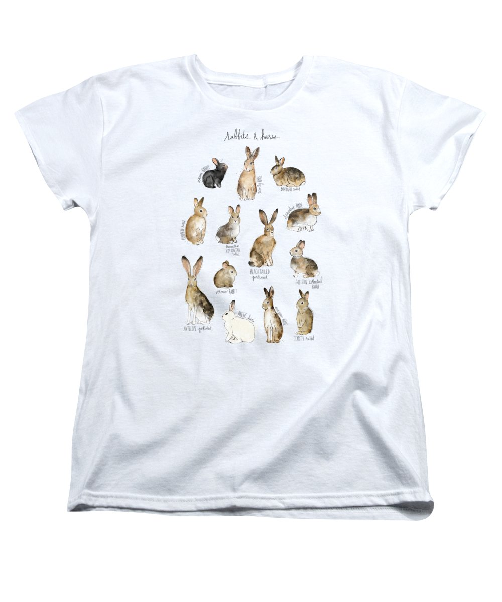 Rabbit Women's T-Shirts