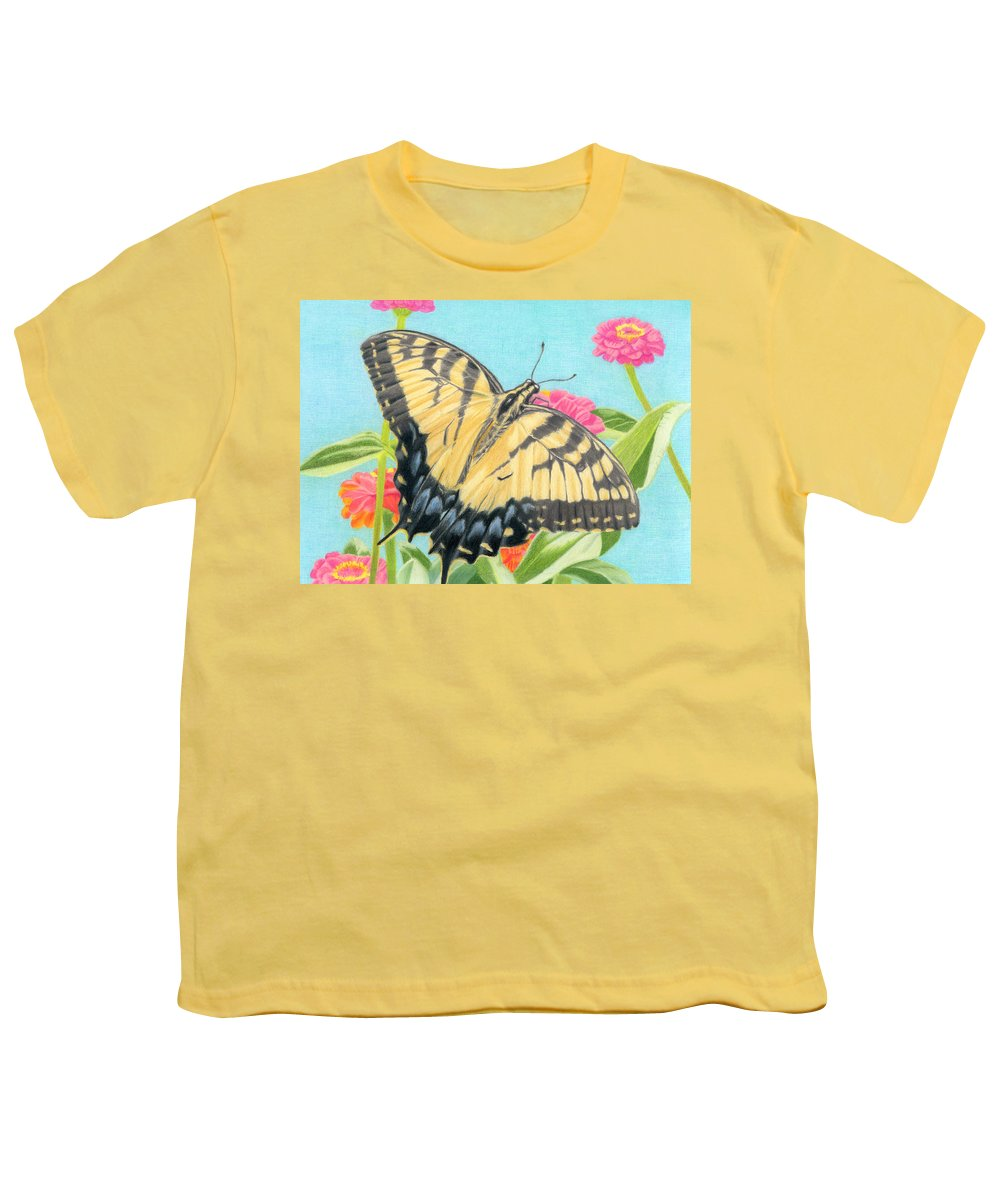 Floral Garden Youth T-Shirts