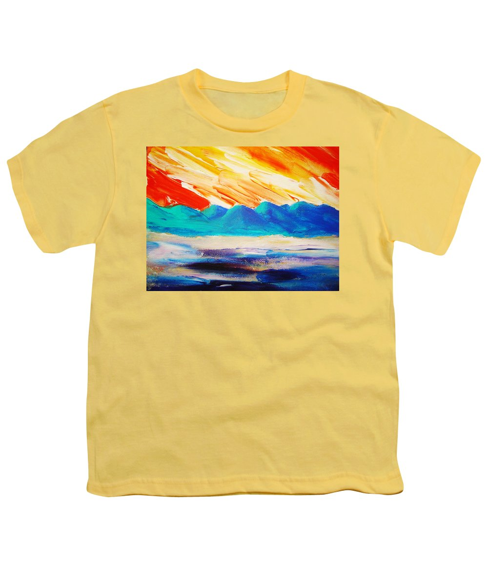 Bright Youth T-Shirt featuring the painting Bold Day by Melinda Etzold