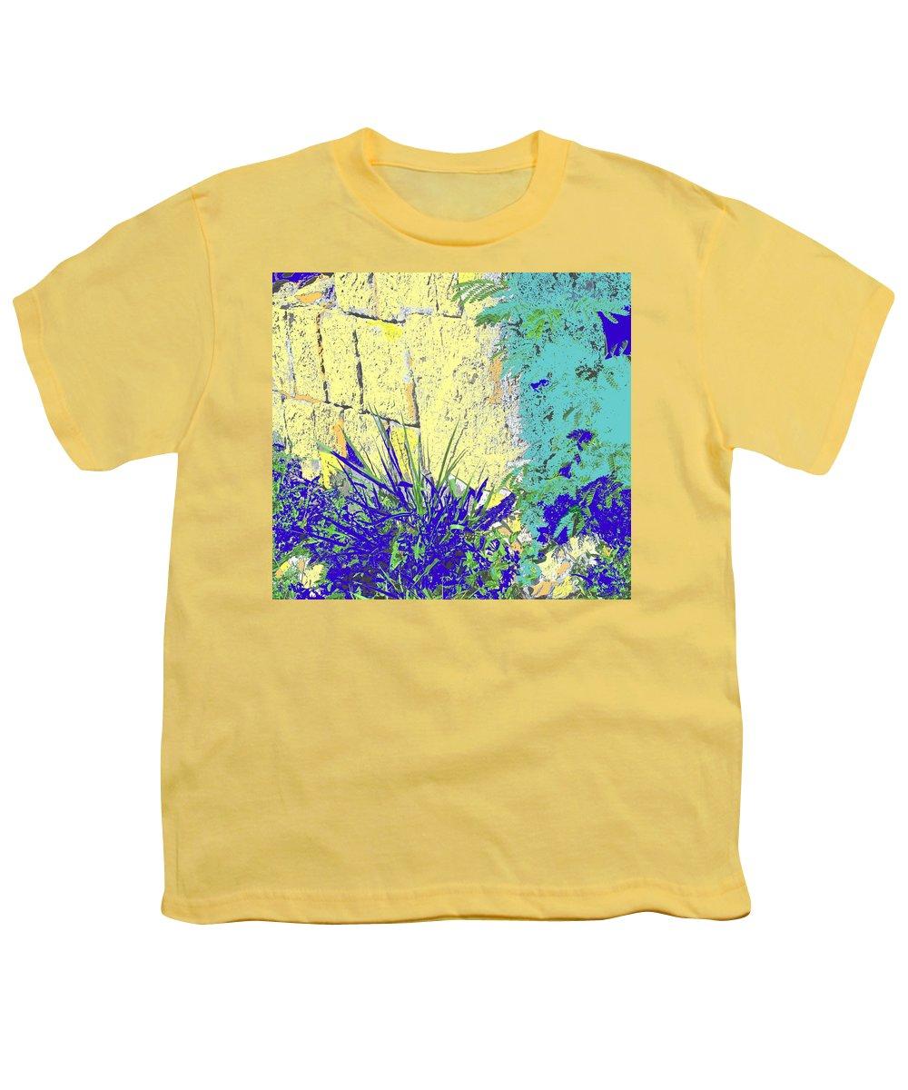 Brimstone Youth T-Shirt featuring the photograph Brimstone Blue by Ian MacDonald