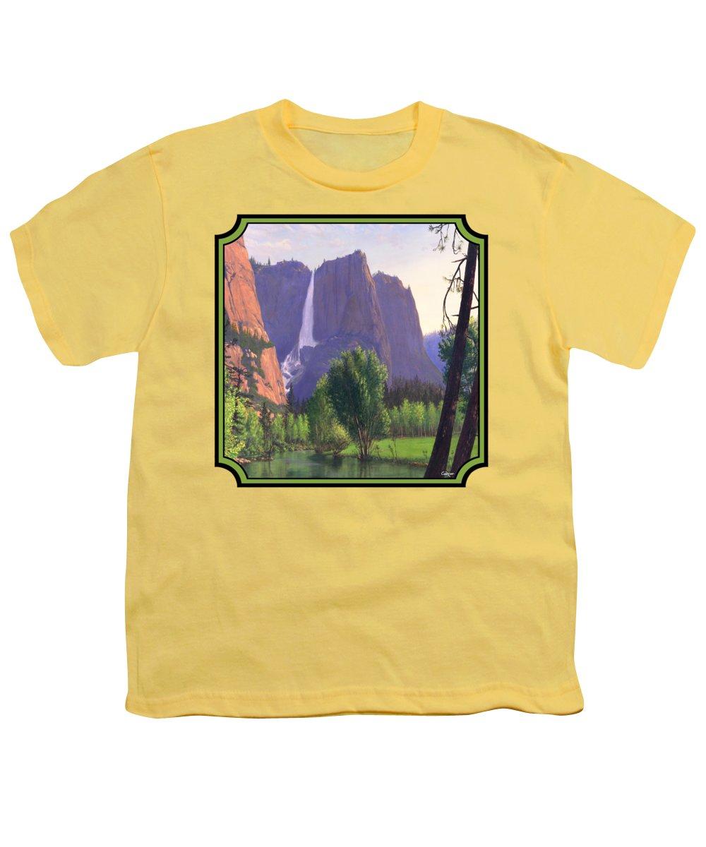 Montana Landscape Youth T-Shirts