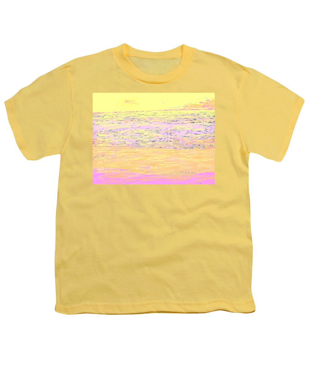 Seascape Youth T-Shirt featuring the photograph Pineapple Sunset by Ian MacDonald