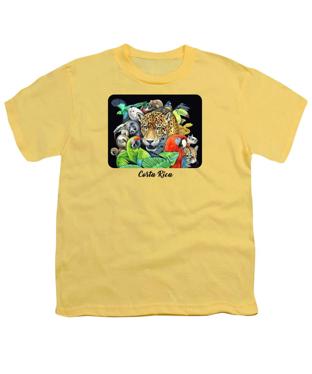 Macaw Youth T-Shirts