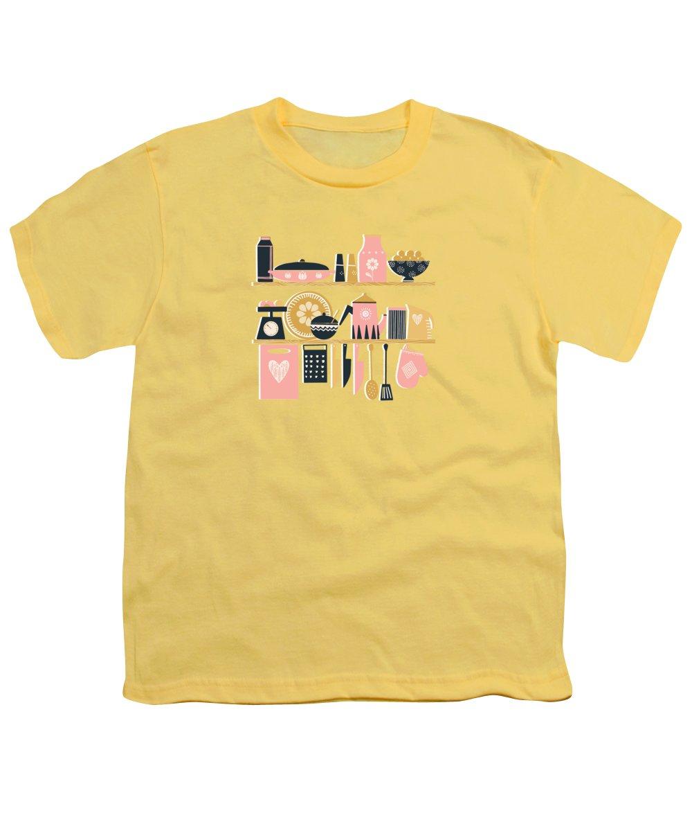 Kitchen Utensils Youth T-Shirts