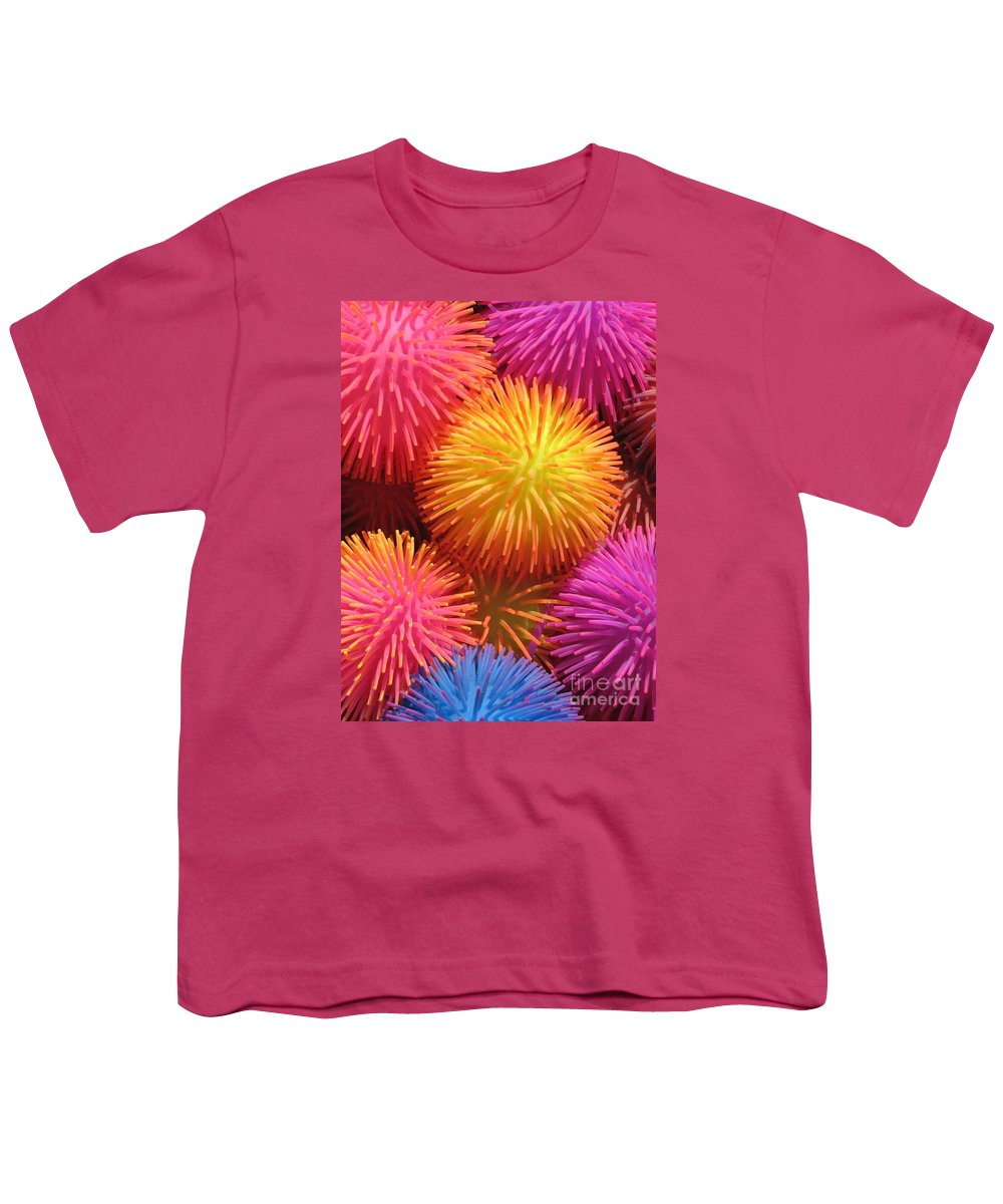 Abstract Youth T-Shirt featuring the photograph Dazzlers by Ann Horn