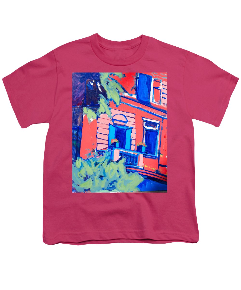 Balcony Youth T-Shirt featuring the painting Balcone by Kurt Hausmann