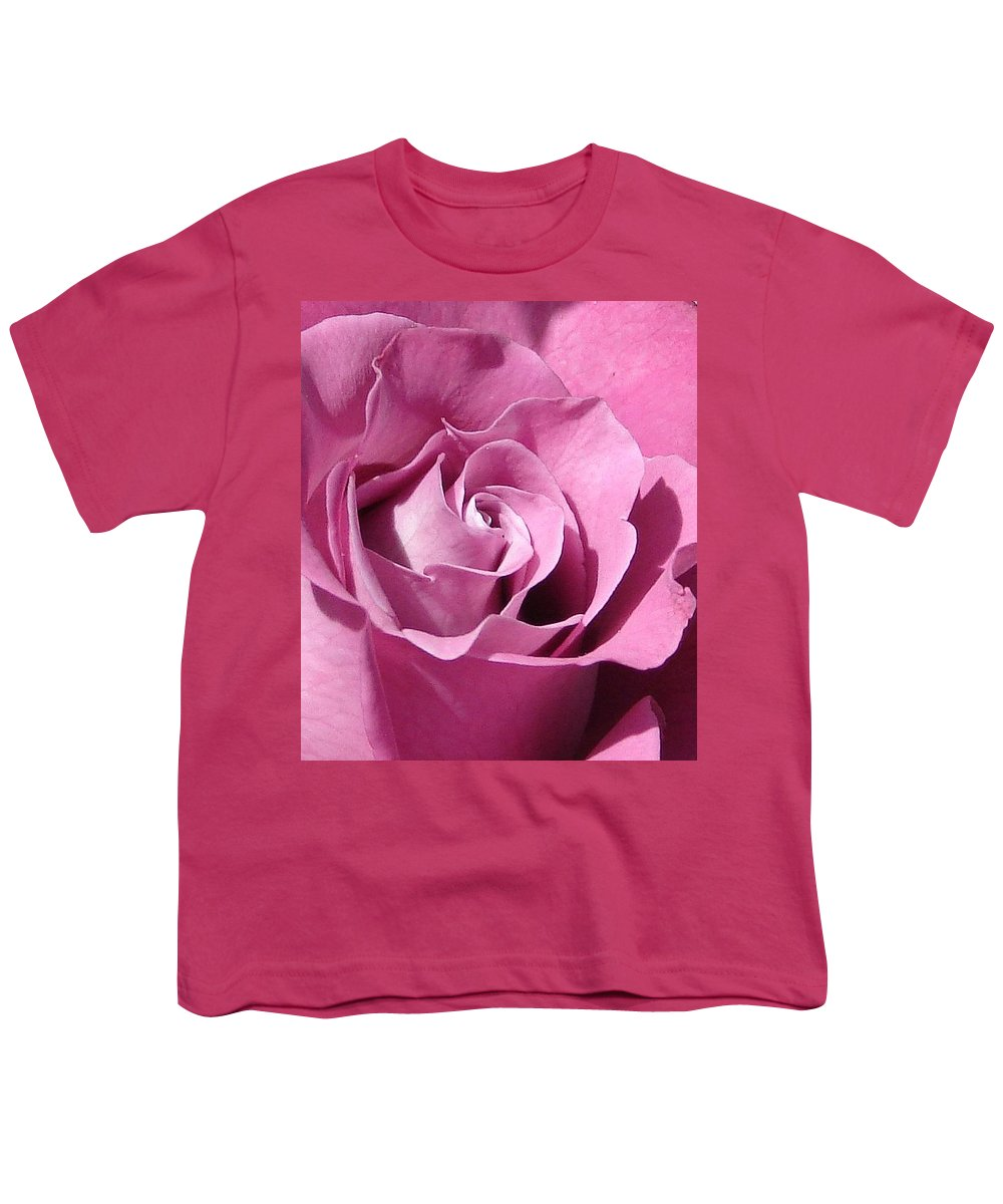 Rose Pink Youth T-Shirt featuring the photograph Big Pink by Luciana Seymour