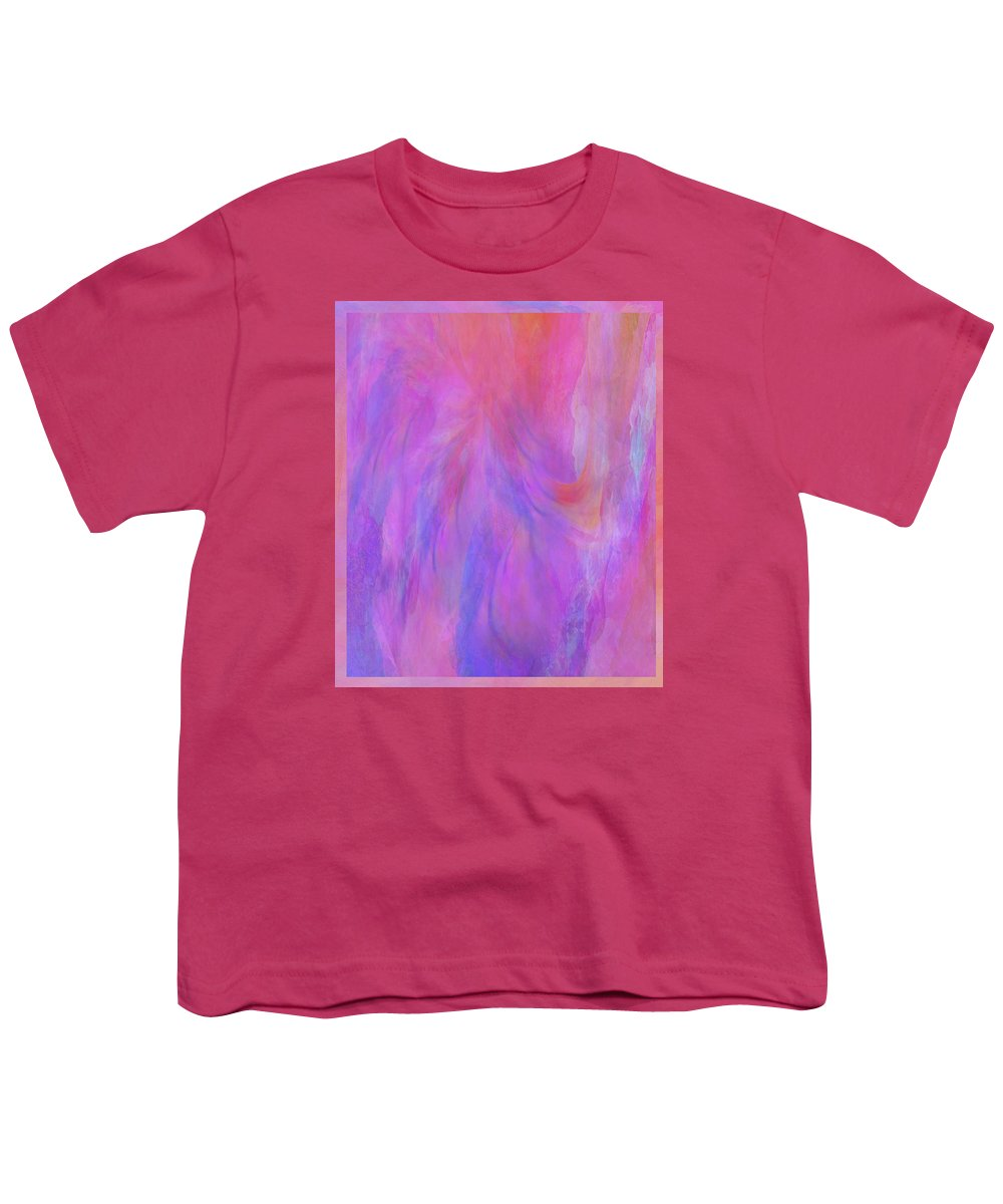 Digital Art Youth T-Shirt featuring the digital art Blossom by Linda Murphy