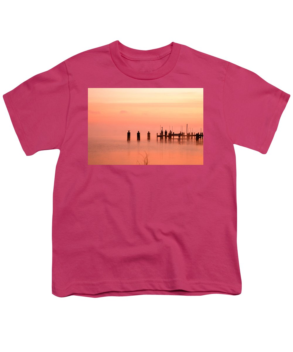 Clay Youth T-Shirt featuring the photograph Eery Morn by Clayton Bruster