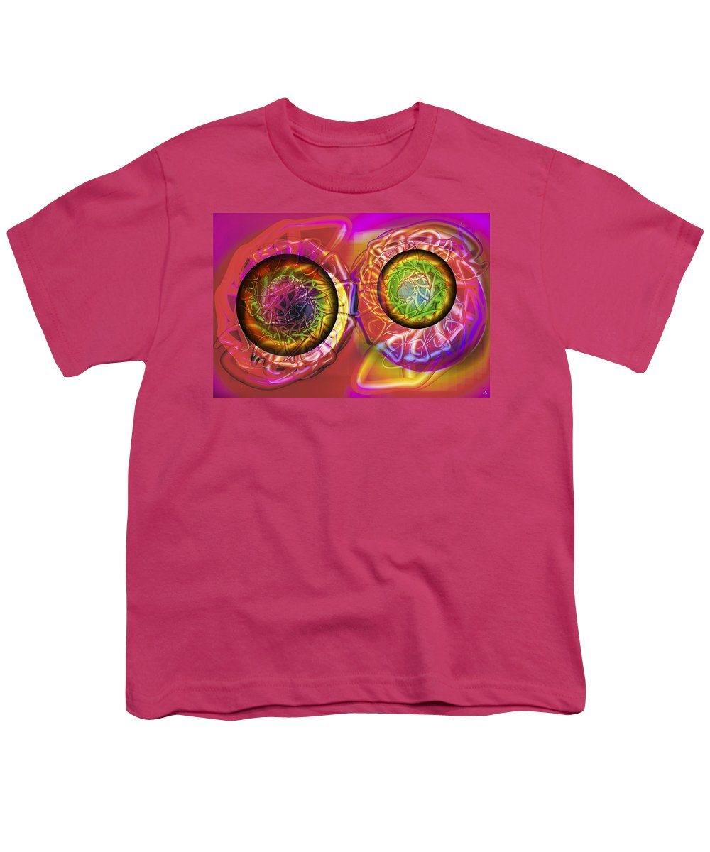 Crazy Youth T-Shirt featuring the digital art Vision 42 by Jacques Raffin