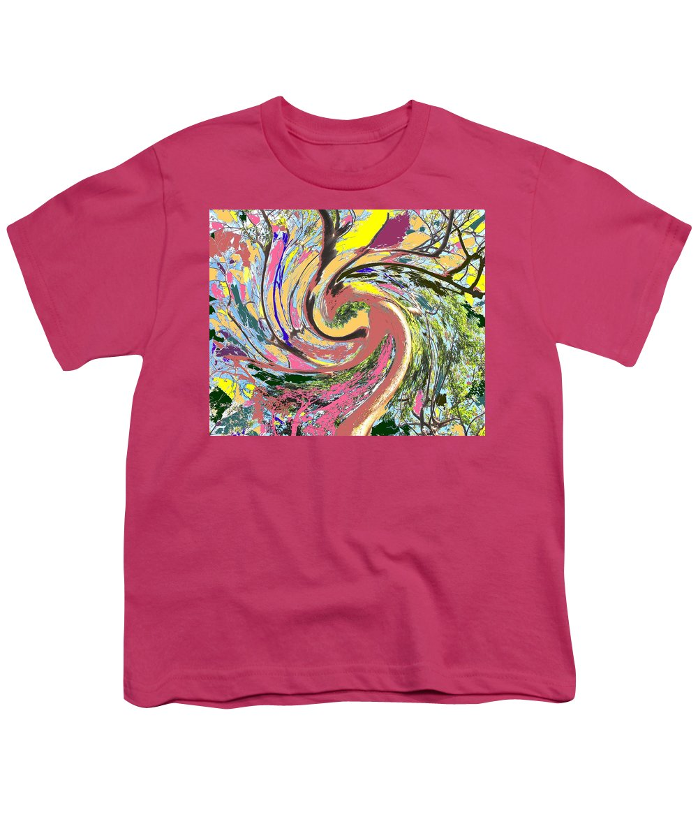 Blue Youth T-Shirt featuring the photograph Wild Tree by Ian MacDonald