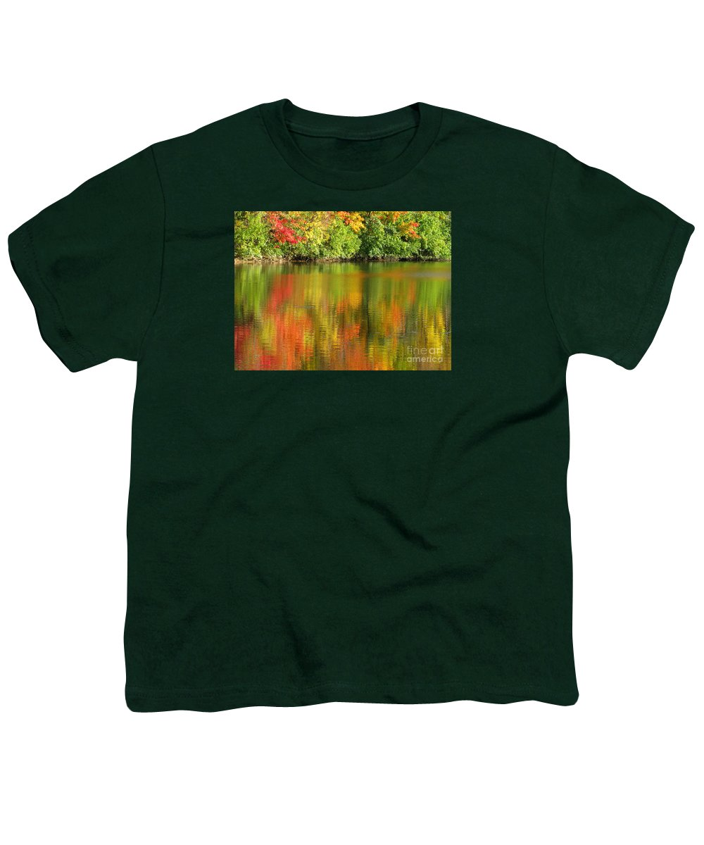 Autumn Youth T-Shirt featuring the photograph Autumn Brilliance by Ann Horn