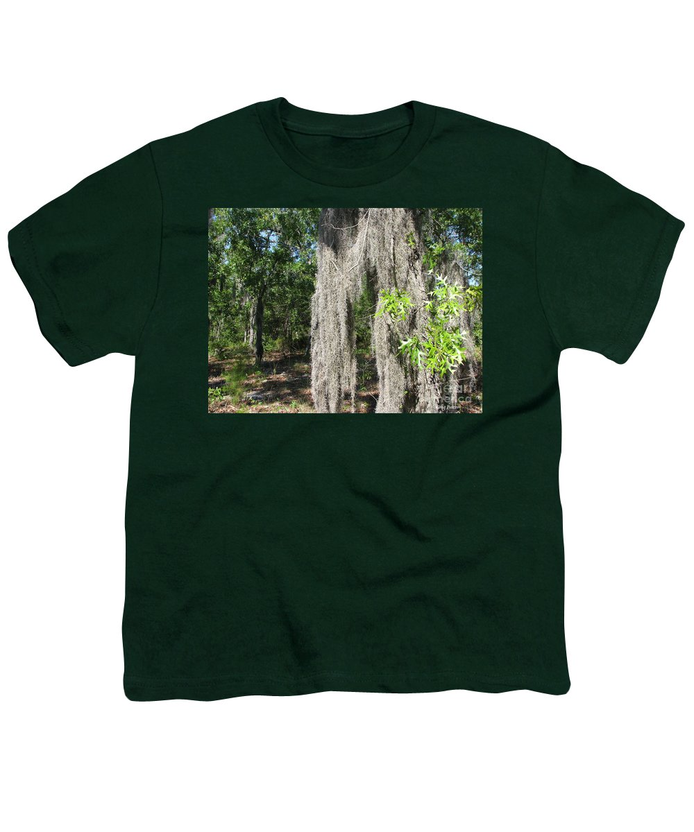 Patzer Youth T-Shirt featuring the photograph Just The Backyard by Greg Patzer