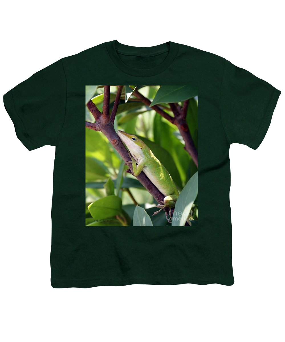 Photography Youth T-Shirt featuring the photograph Hanging On by Shelley Jones