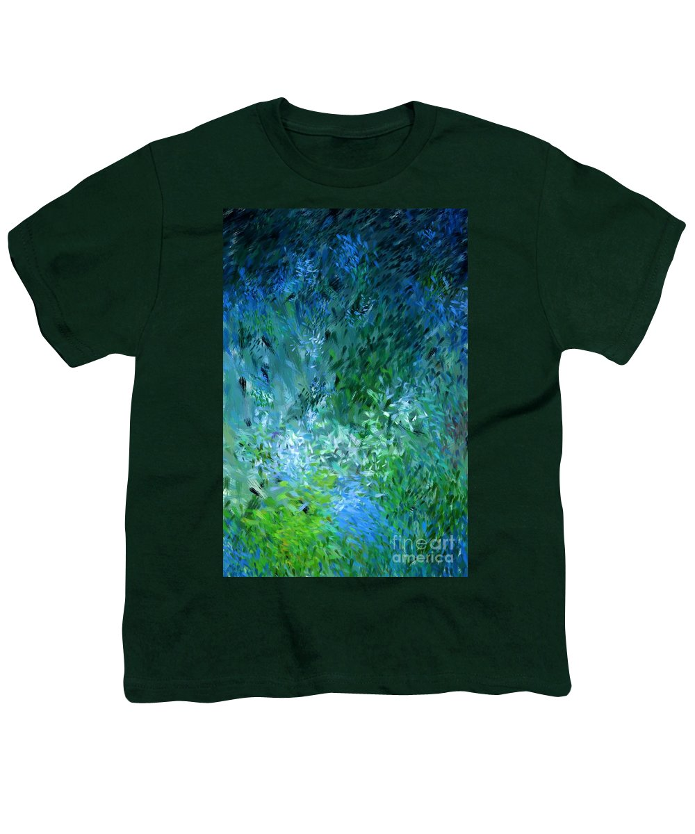 Abstract Youth T-Shirt featuring the digital art Abstract 05-25-09 by David Lane
