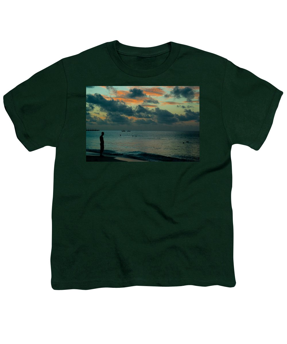 Sea Youth T-Shirt featuring the photograph Early Morning Sea by Douglas Barnett