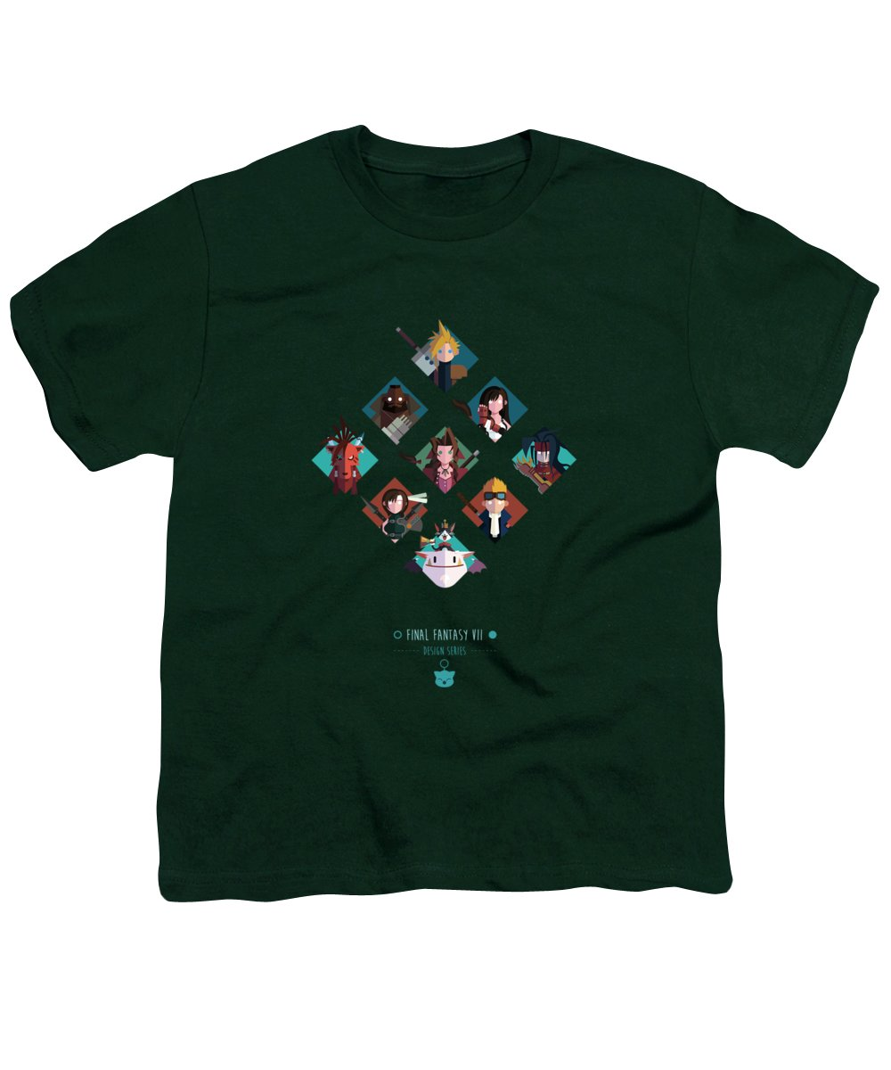 Final Fantasy Youth T-Shirt featuring the digital art FF Design Series by Michael Myers