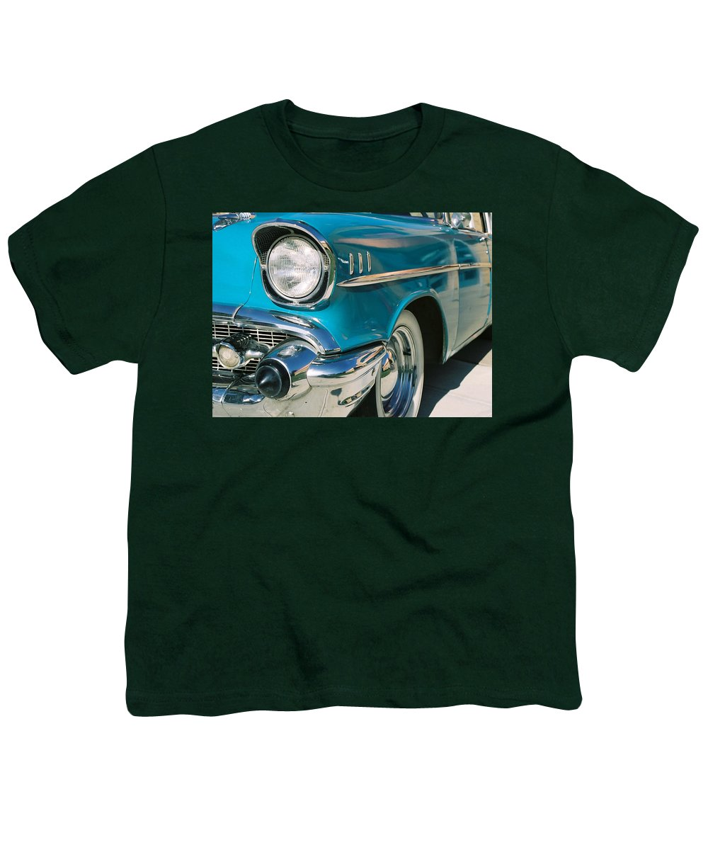 Chevy Youth T-Shirt featuring the photograph Old Chevy by Steve Karol