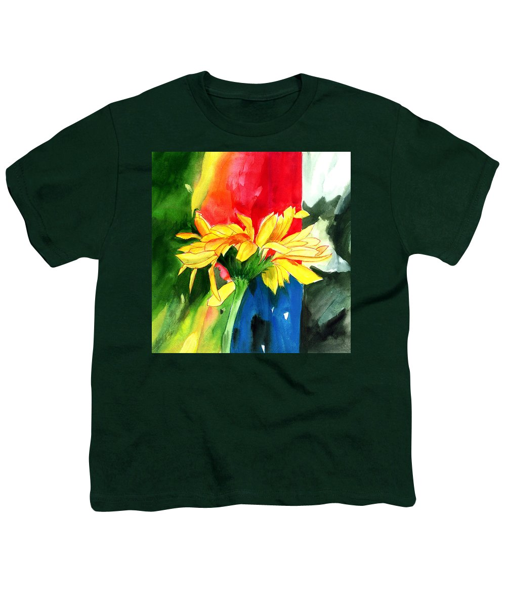 Peace Youth T-Shirt featuring the painting Peace Square by Anil Nene