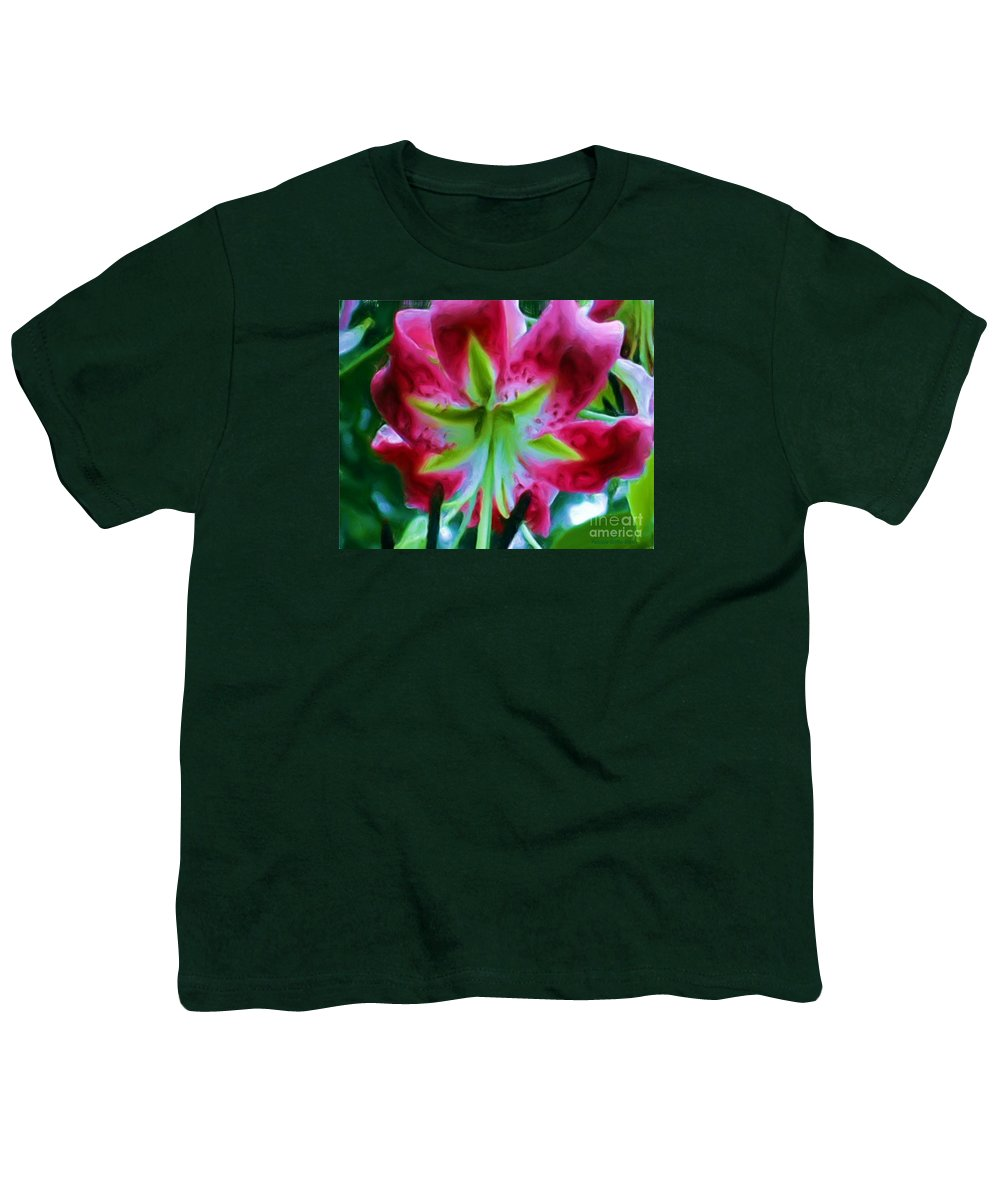 Fine Art Photography Youth T-Shirt featuring the photograph Stargazer by Patricia Griffin Brett