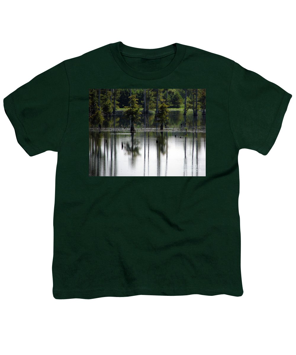 Wetlands Youth T-Shirt featuring the photograph Wetland by Amanda Barcon