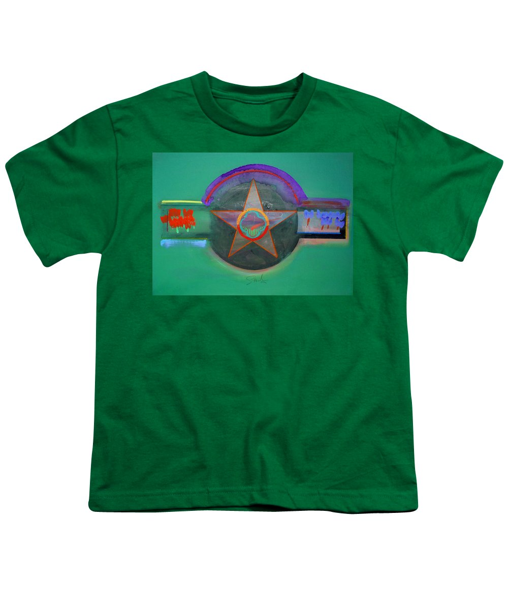 Star Youth T-Shirt featuring the painting Arlington Green by Charles Stuart