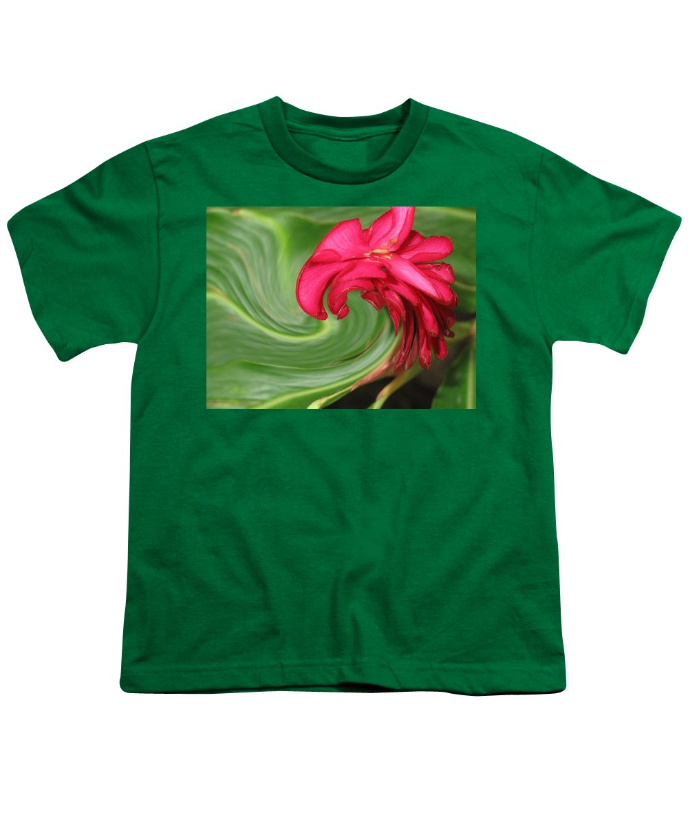 Flower Youth T-Shirt featuring the photograph Come To Me by Ian MacDonald