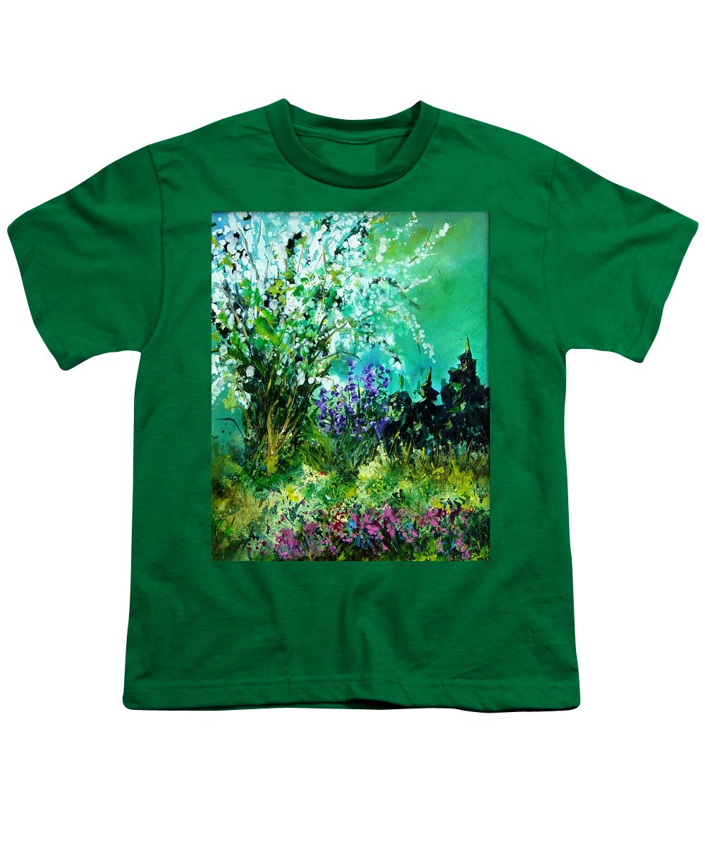 Tree Youth T-Shirt featuring the painting Seringa by Pol Ledent